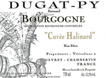Domaine Dugat-Py Bourgogne Cuvee Halinard 2017 Bourgogne
