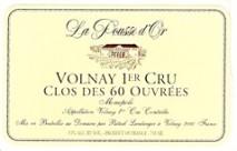 Domaine de la Pousse d'Or  Clos des 60 Ouvrees, Volnay 1er Cru 2013 Bourgogne