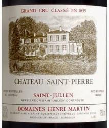 Chateau Saint Pierre 1992 St Julien