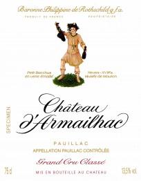 Chateau d'Armailhac 2003 Pauillac