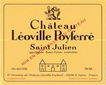 Chateau Leoville Poyferre 2013 St Julien