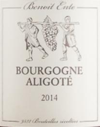 Benoit Ente, Bourgogne Aligote 2016 Bourgogne