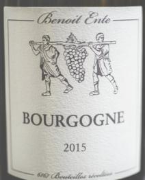 Benoit Ente, Bourgogne Blanc 2016 Bourgogne