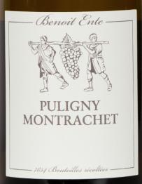 Benoit Ente, Puligny Montrachet 2016 Cote de Beaune