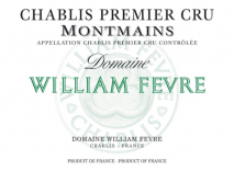 Domaine William Fevre, Chablis 1er Cru Montmains 2012 Chablis