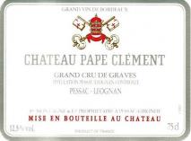 Chateau Pape Clement 2013 Pessac Leognan