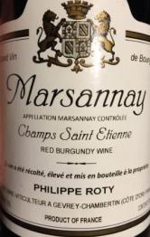 Domaine Joseph Roty Marsannay Champs St Etienne 2016 Cote de Nuits