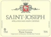 Domaine Pierre Gonon, Saint Joseph 2014 Saint Joseph
