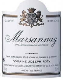 Domaine Joseph Roty Marsannay 2016 Cote de Nuits