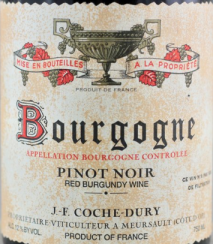 Domaine Coche-Dury Bourgogne Rouge 2016 Cote de Beaune