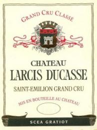 Chateau Larcis-Ducasse 2012 St Emilion