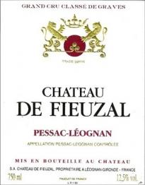 Chateau de Fieuzal 1999 Pessac Leognan