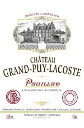 Chateau Grand Puy Lacoste 2014 Pauillac