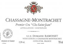Domaine Ramonet, Chassagne-Montrachet 1er Cru Clos Saint Jean Rouge 2009 Cote de Beaune