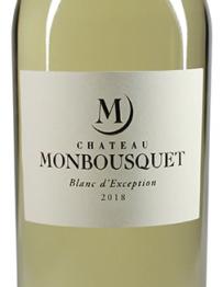 Chateau Monbousquet Blanc 2018 St Emilion
