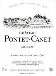 Chateau Pontet Canet 2018 Pauillac