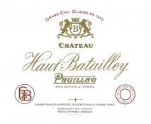 Chateau Haut Batailley 2018 Pauillac