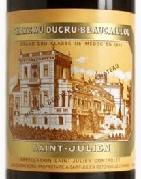 Chateau Ducru Beaucaillou 2018 St Julien