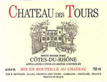Rayas, Chateau des Tours Blanc 2015 Cote du Rhone