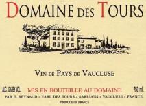 E. Reynaud, Domaine des Tours Reserve Blanc, IGP Vaucluse 2015 IGP Vaucluse