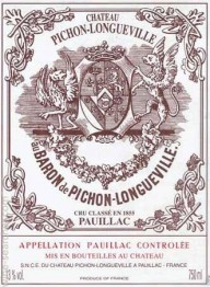 Chateau Pichon Longueville Baron 2018 Pauillac
