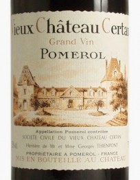 Chateau Vieux Chateau Certan 2018 Pomerol