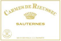 Carmes de Rieussec 2018 Sauternes