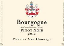 Charles Van Canneyt, Bourgogne Pinot Noir 2016 Cote de Nuits