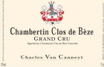 Charles Van Canneyt Chambertin Clos-de-Beze Grand Cru 2016 Cote de Nuits