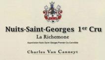 Charles Van Canneyt, Nuits-Saint-Georges 1er Cru, La Richemone 2015 Cote de Nuits
