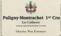Charles Van Canneyt, Puligny-Montrachet 1er Cru Les Caillerets 2015 Cote de Nuits