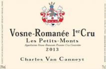 Charles Van Canneyt, Vosne-Romanee 1er Cru Les Petits Monts 2014 Cote de Nuits