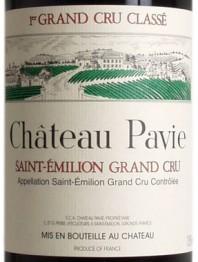 Chateau Pavie 1973 St Emilion
