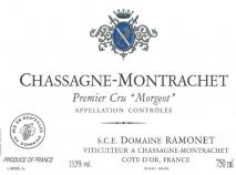 Domaine Ramonet, Chassagne Montrachet 1er Cru Morgeot Rouge 2011 Cote de Beaune