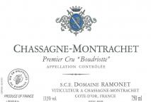 Domaine Ramonet, Chassagne Montrachet 1er Cru Boudriotte Rouge 2016 Cote de Beaune