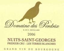 Domaine des Perdrix, Nuits Saint Georges 1 er Terres Blanches 2016 Cote de Nuits