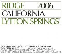 Ridge Lytton Spring 2017 California