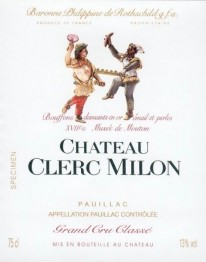 Chateau  Clerc Milon 2018 Pauillac
