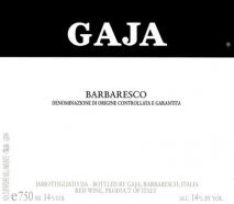 Gaja, Barbaresco 2016 Barbaresco