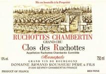 Domaine Armand Rousseau Pere et Fils, Ruchottes-Chambertin 2013 Cote de Nuits