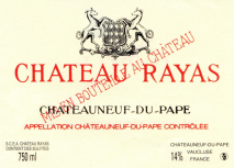 Chateau Rayas, Chateauneuf-du-Pape Reserve Blanc 1998 Chateauneuf du Pape