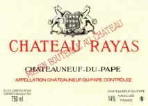 Chateau Rayas, Chateauneuf-du-Pape Reserve Blanc 1998 Chateauneuf du Pape