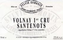 Domaine Sylvie Esmonin, Volnay 1er Cru Santenots 2011 Cote de Beaune