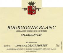 Domaine Denis Mortet, Bourgogne Blanc 2012 Cote de Nuits