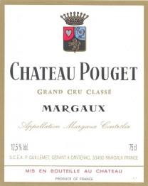 Chateau Pouget 2004 Margaux