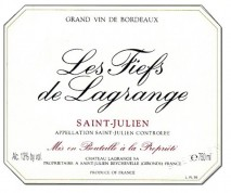 Les Fiefs de Lagrange 1988 St Julien