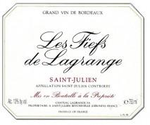 Les Fiefs de Lagrange 1989 St Julien