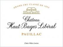 Chateau Haut Bages Liberal 1996 Pauillac
