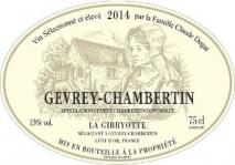 La Gibryotte (Claude Dugat) Gevrey Chambertin 2016 Cote de Nuits