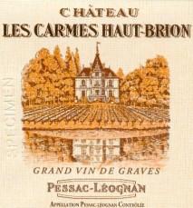 Chateau Les Carmes Haut Brion 2008 Pessac-Leognan